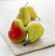 Quartet Prints - Pears Print by David Munns