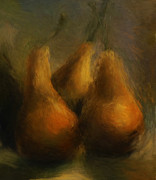 Pears Digital Art Originals - Pears by Lynn Berkeley