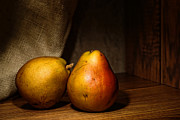 Grown Framed Prints - Pears Framed Print by Olivier Le Queinec
