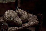 Pears On A Chair I Print by Tom Mc Nemar