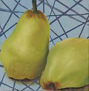 Funky Originals - Pears by Susan Singer