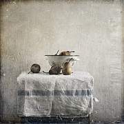 Flypaper Textures Photos - Pears under grunge by Paul Grand