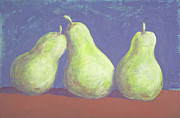 Pears Drawings Framed Prints - Pears Framed Print by Vincent Randlett III