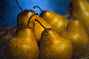 """indoor"" Still Life  Photo Metal Prints - Pears Waiting Metal Print by Scott Norris"