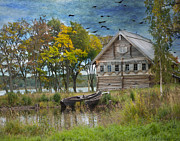 Museum Framed Prints - Peasant House. Kizhi Island. Russia. Framed Print by Juli Scalzi