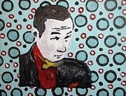 Masculine Painting Originals - Pee Wee Herman by April Brosemann