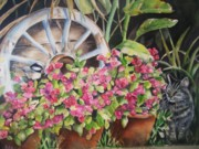 Chickadee Originals - Peekaboo by Patricia Pushaw