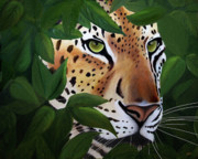 Endangered Cat Posters - Peeking Poster by Frances Guzzetta