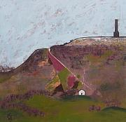 Peel Paintings - Peel Tower by Joanne Claxton