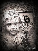 Angel Digital Art Posters - Peeling Paint Number 6 Poster by Melissa Wyatt