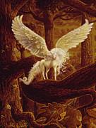 Pegasus Print by Steve Roberts