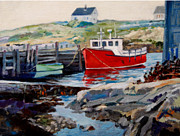 Michael McDougall - Peggys Cove