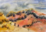 Sand Dunes Paintings - P.E.I. Dunes by Patricia Bigelow