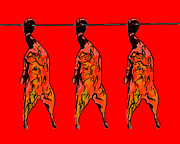 Peking Prints - Peking Duck Pop Art Print by Wingsdomain Art and Photography