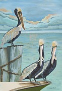 Jennifer  Donald - Pelicans Three