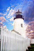 Pemaquid Point Print by Darren Fisher