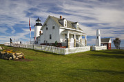 Fourth Order Fresnel Framed Prints - Pemaquid Point Lighthouse 1 Framed Print by Katja Zuske