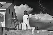 Guy Whiteley Photo Originals - Pemaquid Point Lighthouse 4806 by Guy Whiteley