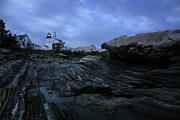 Pemaquid Lighthouse Art - Pemaquid by Timothy Johnson