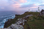 Sea Watch Prints - Pendeen Watch lighthouse in Cornwall Print by Richard Thomas