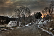 Winter Photos - Pendergast Road by Everet Regal