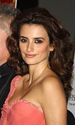 Penelope Cruz Framed Prints - Penelope Cruz At Arrivals For Screening Framed Print by Everett