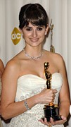 Diamond Bracelet Art - Penelope Cruz, Best Supporting Actress by Everett