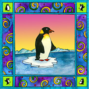 Corwin Paintings - Penguin by Pamela  Corwin