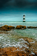 Coastline Digital Art - Penmon Point by Adrian Evans