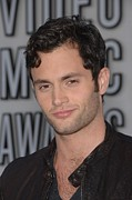 Live Music Posters - Penn Badgley At Arrivals For 2010 Mtv Poster by Everett
