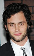 Unshaven Prints - Penn Badgley At Arrivals For Sherlock Print by Everett