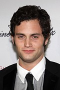 Cipriani Restaurant Wall Street Metal Prints - Penn Badgley At Arrivals For The 2009 Metal Print by Everett