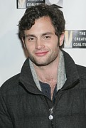 Initiative Prints - Penn Badgley At Arrivals For The 2011 Print by Everett