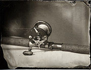 Tintype Prints - Penn Reel Print by Chris Morgan
