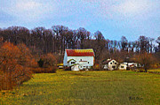 Pennsylvaina Farm Scene Print by Bill Cannon