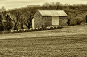 Barn Digital Art Prints - Pennsylvania Barn Print by Bill Cannon