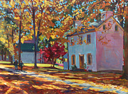 Pathway Paintings - Pennsylvania Colors by David Lloyd Glover