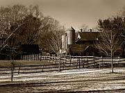 Pennsylvania Art - Pennsylvania Farm by Gordon Beck