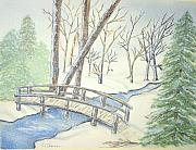 Constance Larimer - Pennsylvania Winter with...