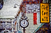 Rehoboth Beach Prints - Penny Lane Print by Trish Tritz
