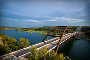 360 Bridge Framed Prints - Pennybacker Bridge 1 Framed Print by Sean Wray