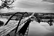 Pennybacker Bridge Prints - Pennybacker Bridge Print by John Maffei
