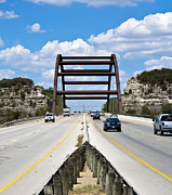 Pennybacker Bridge Prints - Pennybacker Bridge Print by Peter Shugart