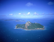 Pentecost Photos - Pentecost Island (aerial) by Photograph By David Messent