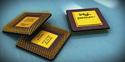 Pentium Is Still Awesome Print by Rimantas Vaiciulis
