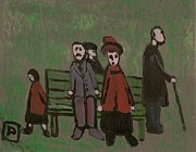 Thank You Originals - People in a park by Peter  McPartlin