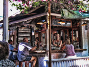 Key West Art - Pepes Cafe by Joetta West