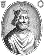 Franks Posters - Pepin The Younger, First King Poster by Photo Researchers