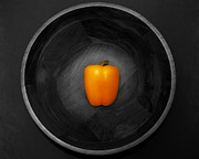 Pepper Prints - Pepper in Bowl Print by Obi Martinez