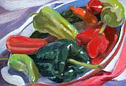 Thaw Malin III - Peppers and Eggplant